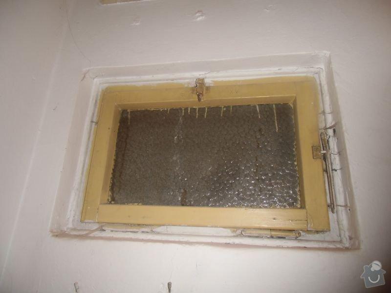 Lakování dveří + futer, lakování oken: okno1a