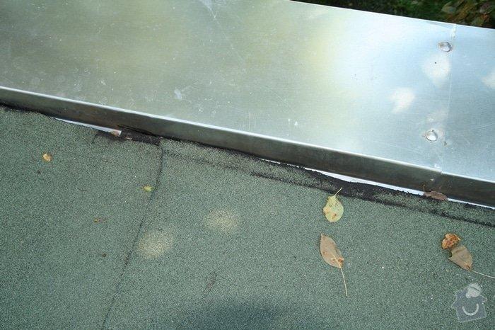 Oprava střechy dvojgaráže cca 48 m2: IMG_9534_zlom_pasu_na_ohybu_oplech._