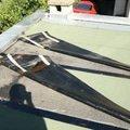 Oprava strechy dvojgaraze cca 48 m2 img 9542 nanatav. pasy zvlneny posled.pas