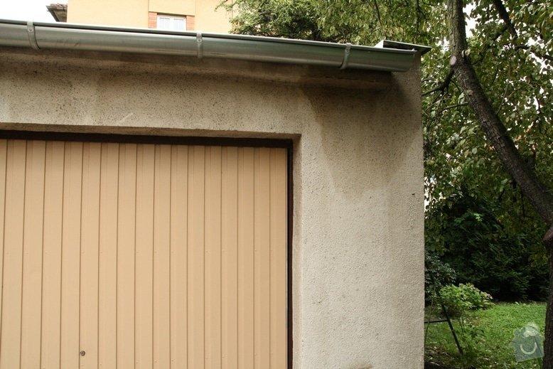 Oprava střechy dvojgaráže cca 48 m2: IMG_9578.zatekani_pod_lepenkou._JPG_1_