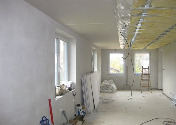 Sadrokartonový podhled(strop)