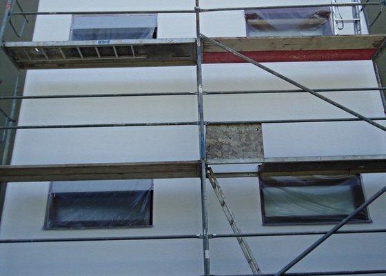Obnova fasády - nátěr, oprava