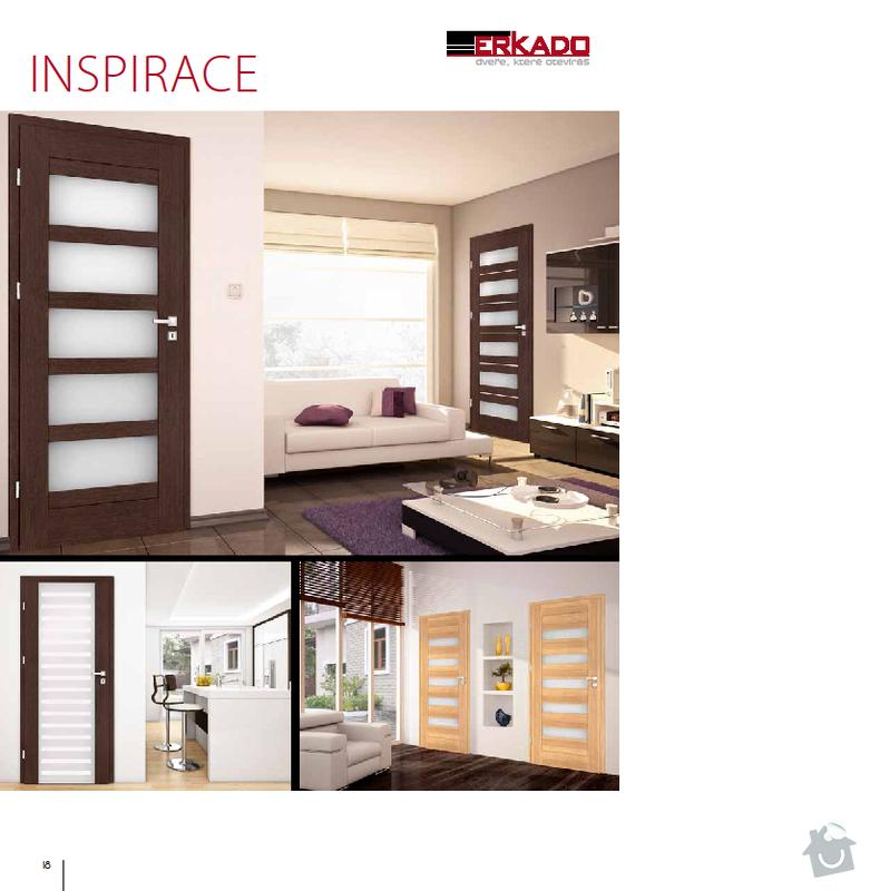 Interiérové dveře: inspirace_2
