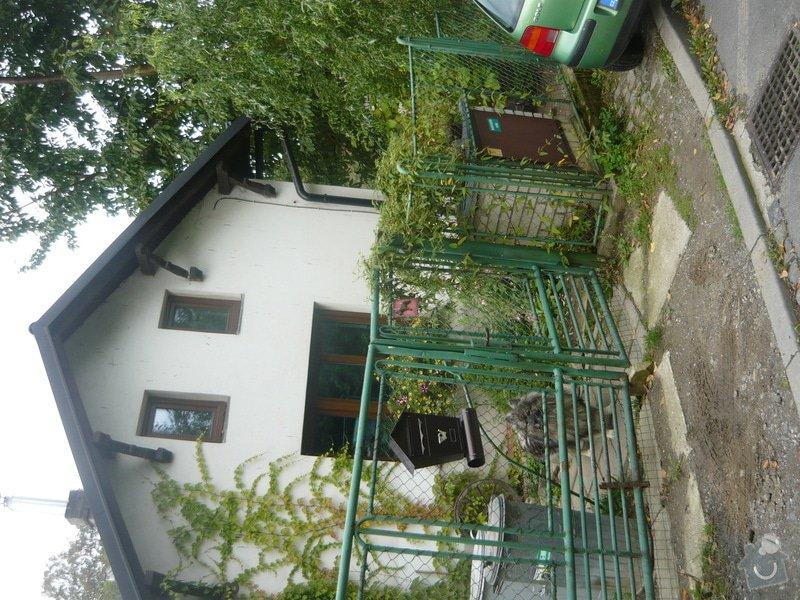 Realizaci plotu u rodinného domu: P1070113