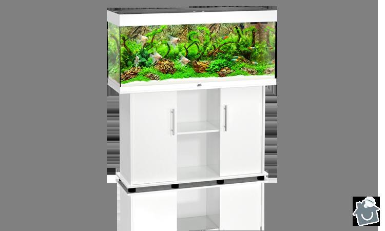 Skříňka pod akvárium s dvířky bílá: skrinka