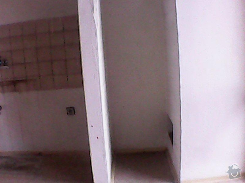 Výrobu regálu s dveřmi do vyzděného koutu v kuchyni: 2013-09-21_14.27.28