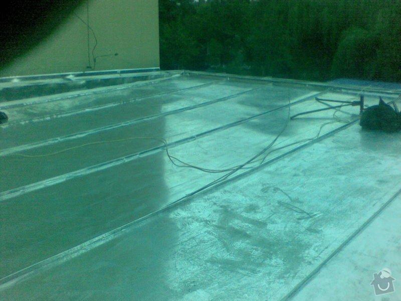 Oprava ploché střechy dvougaráže, 37m2.: 001