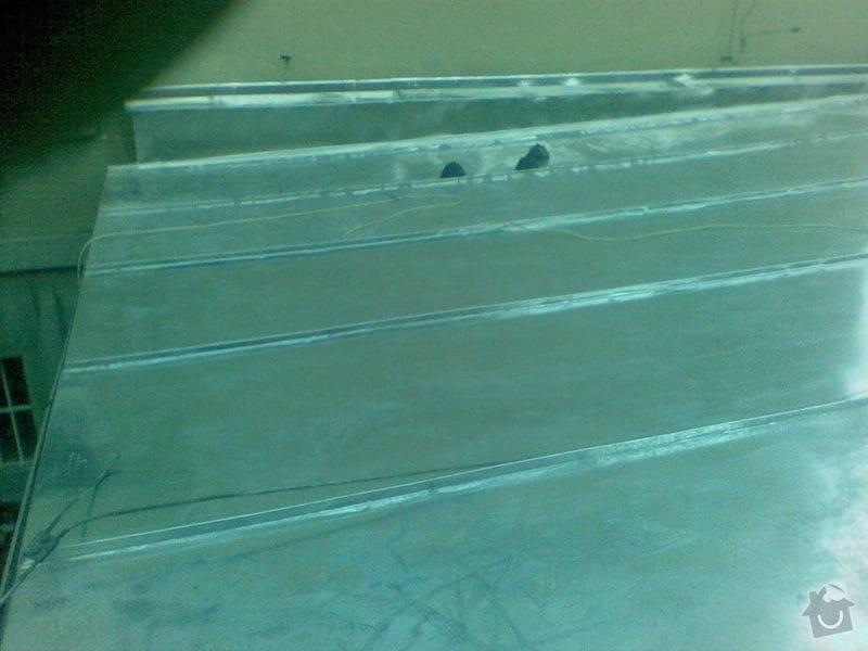 Oprava ploché střechy dvougaráže, 37m2.: 002