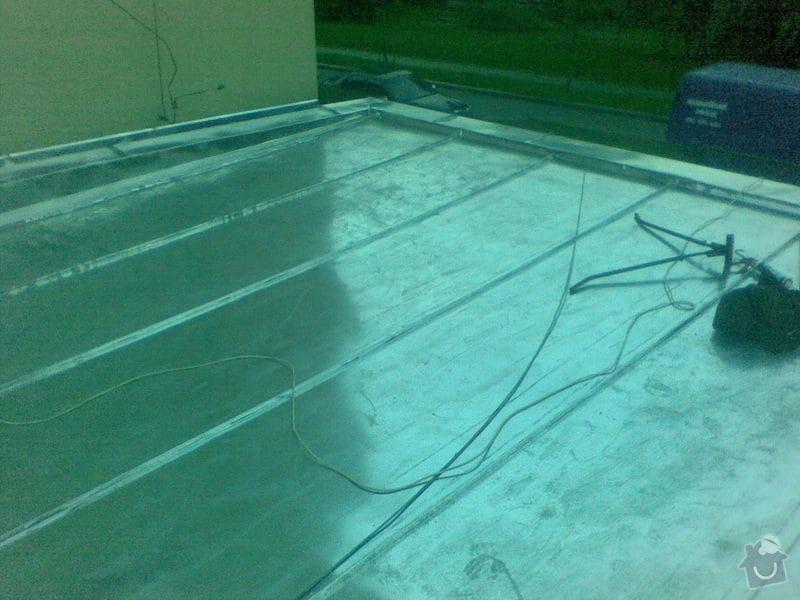 Oprava ploché střechy dvougaráže, 37m2.: 003