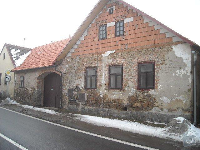 Obložení, omítnutí starého kameného domu: celkovy_pohled_na_dum