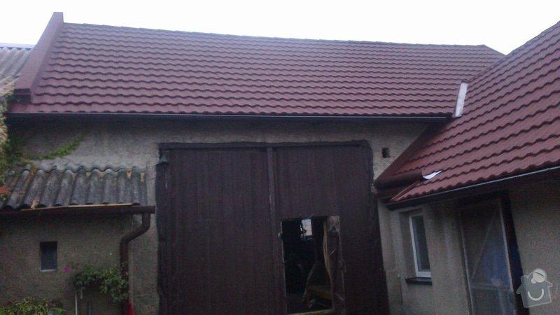 Zhotovení střechy: 2013-09-20-367