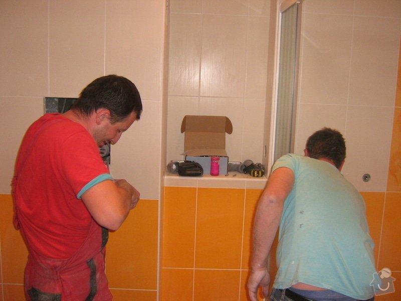 Rekonstrukce koupelny: prace_6
