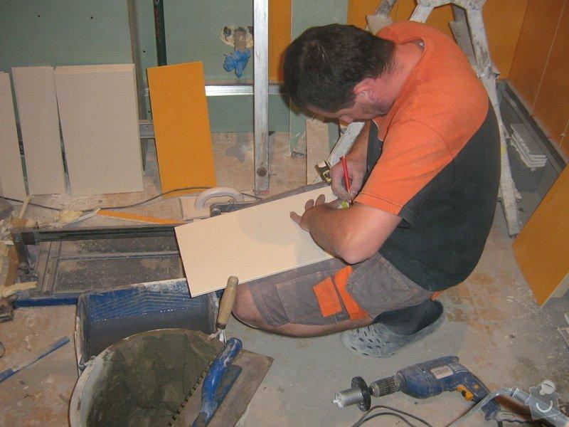 Rekonstrukce koupelny: prace_4