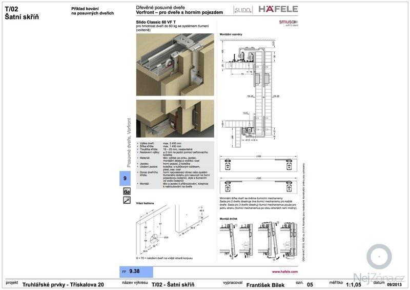 Truhlářské prvky (skříňe a stůl): 05