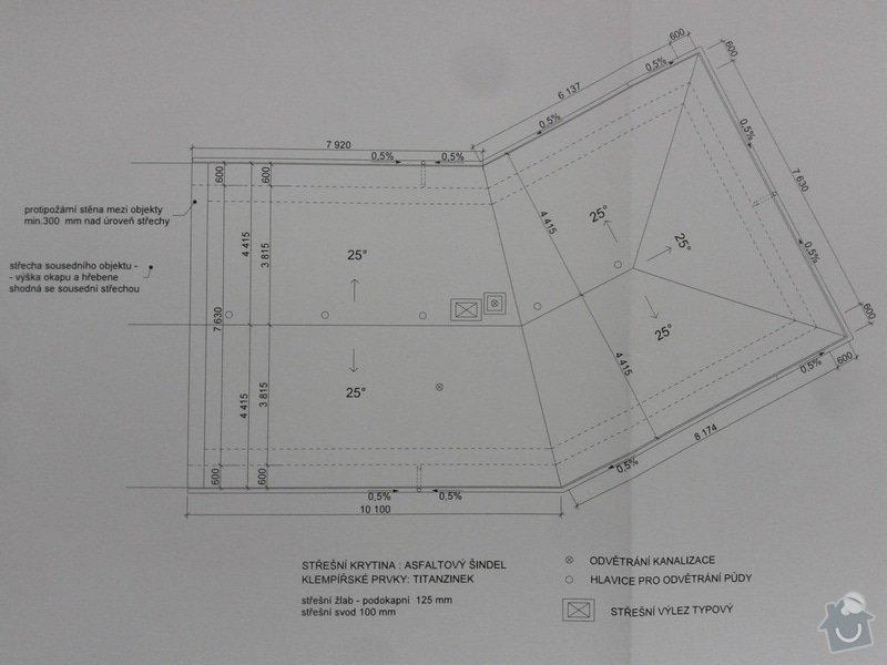 Realizaci strechy na RD: strecha