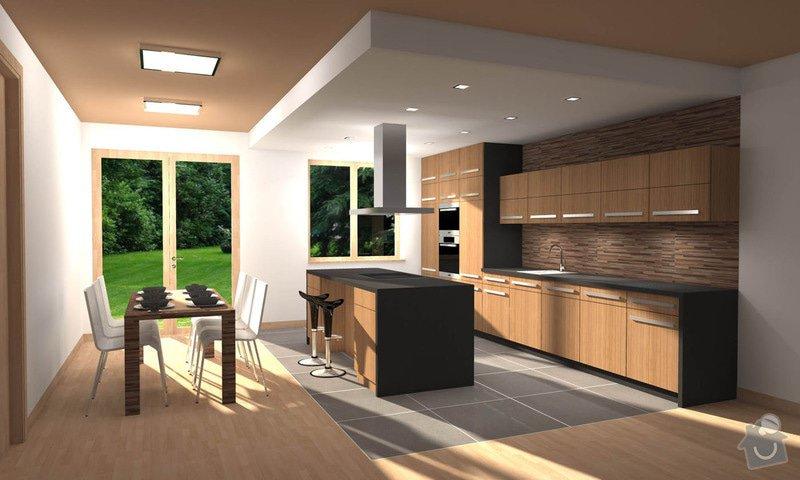 Návrh interiéru kuchyně s jídelnou: interier_kuchyn_1