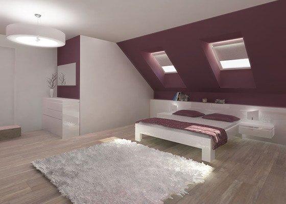 Návrh barevného interiéru rodinného domu