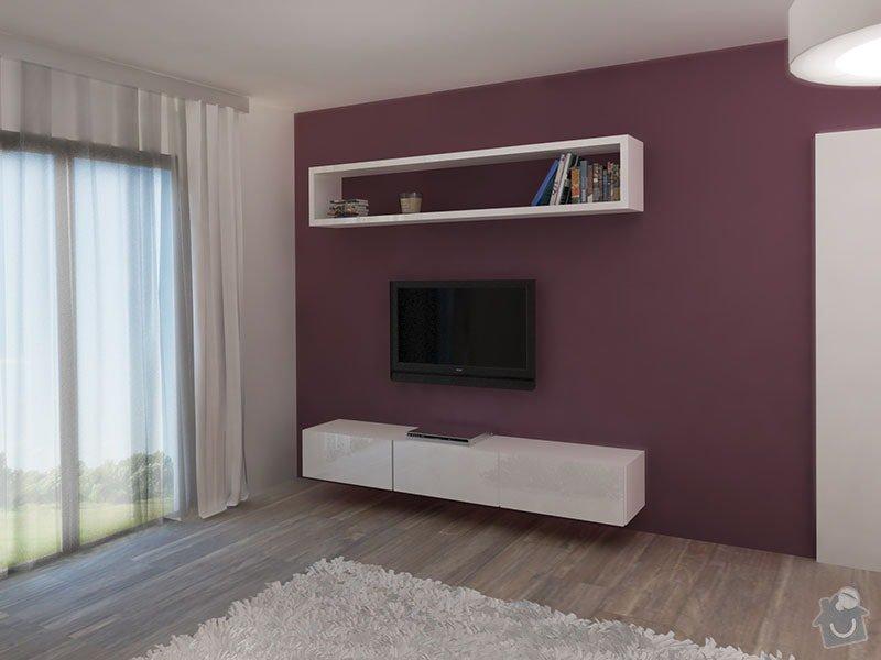Návrh barevného interiéru rodinného domu: 03_loznice