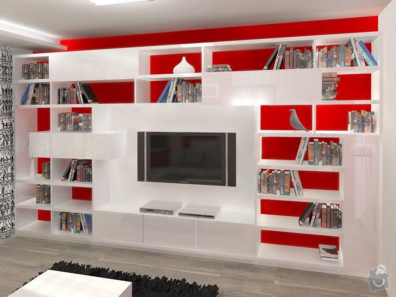 Návrh barevného interiéru rodinného domu: 05_obyvaci_cast