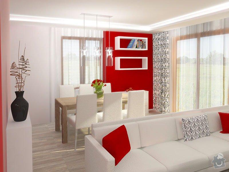 Návrh barevného interiéru rodinného domu: 06_jidelna