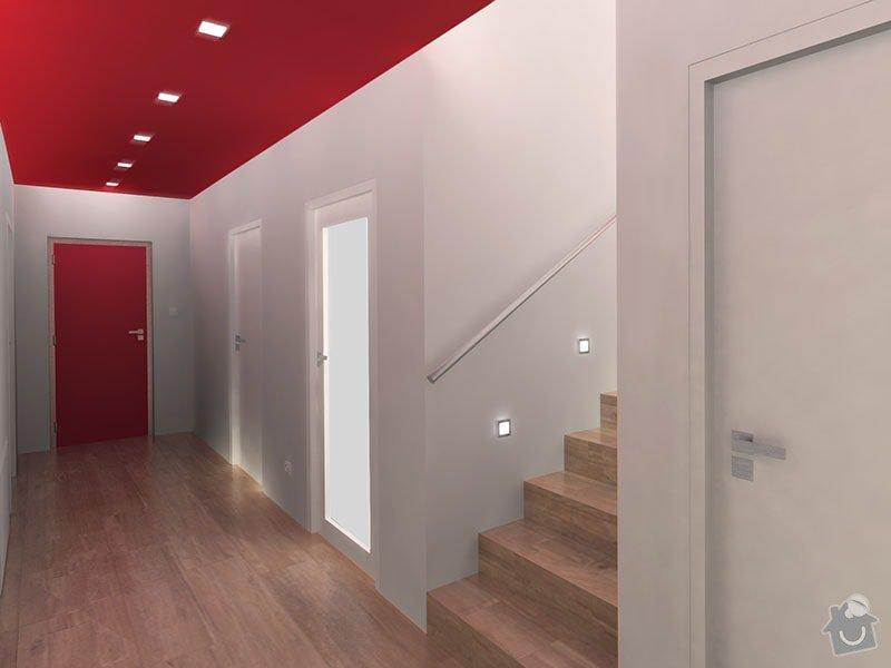Návrh barevného interiéru rodinného domu: 08_chodba