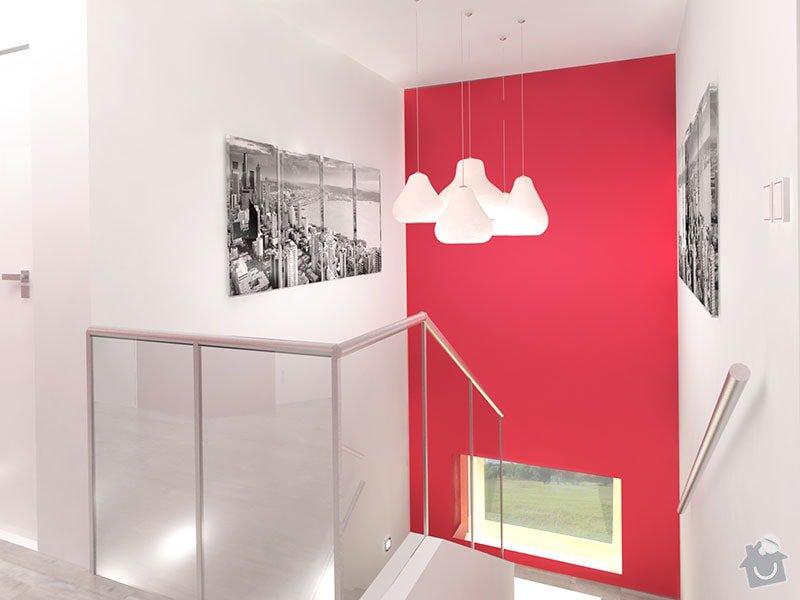 Návrh barevného interiéru rodinného domu: 10_chodba