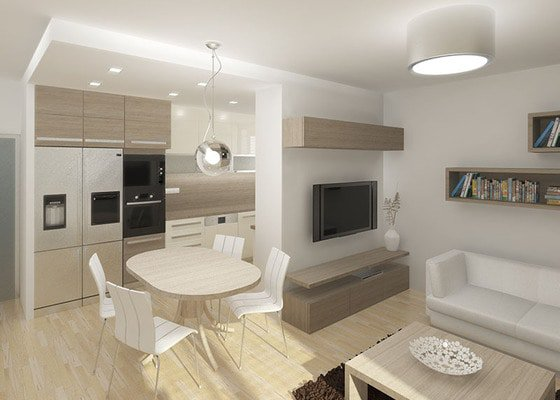 Návrh rekonstrukce bytu 2+1 a řešení interiéru