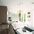 Kuchynska linka obyvaci stena dle zadani designoveho navrhu vizualizace 03