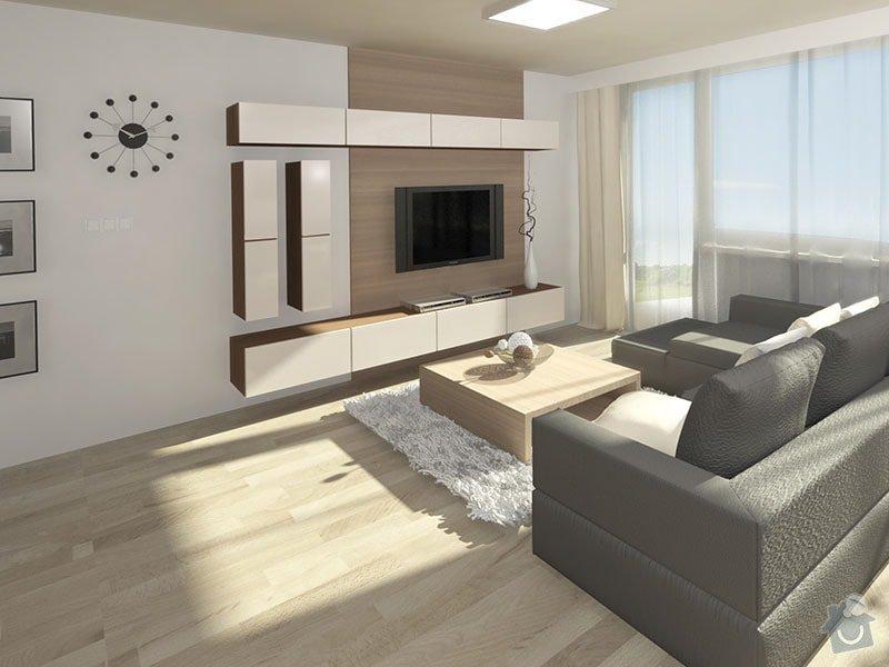 3D návrh kuchyně a obývacího pokoje: 03_obyvakova_sestava