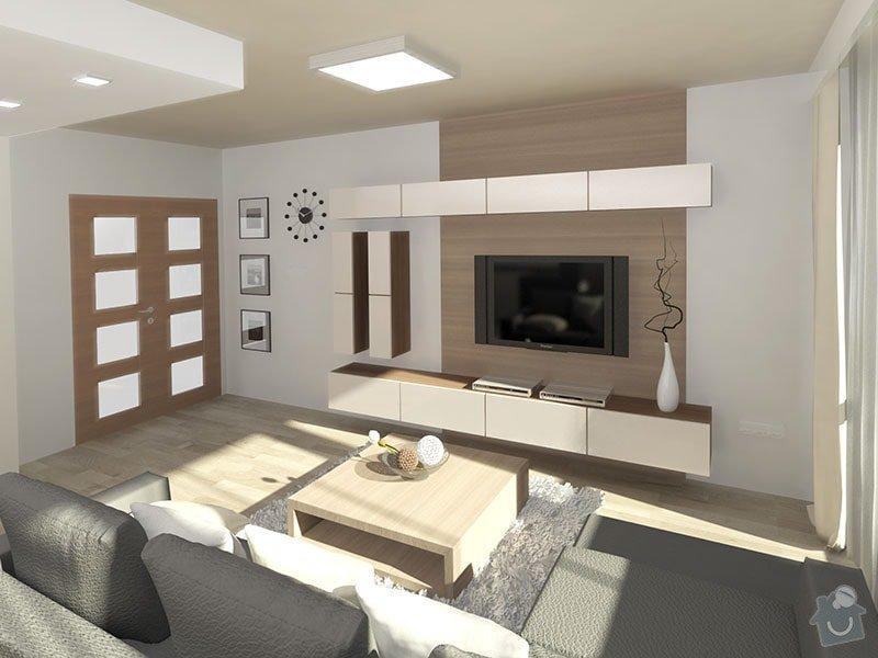 3D návrh kuchyně a obývacího pokoje: 04_obyvakova_sestava