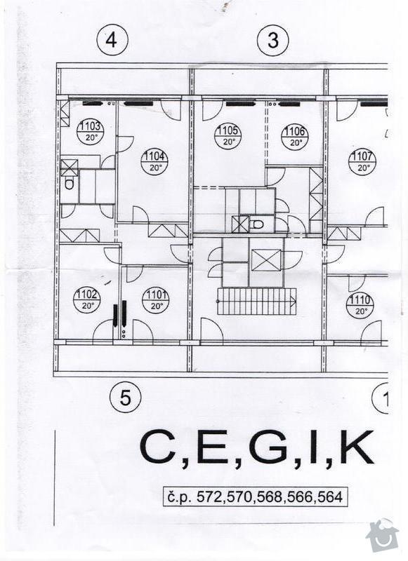 Návrh a rekonstrukci garsonky: Garsonka_Kubacova