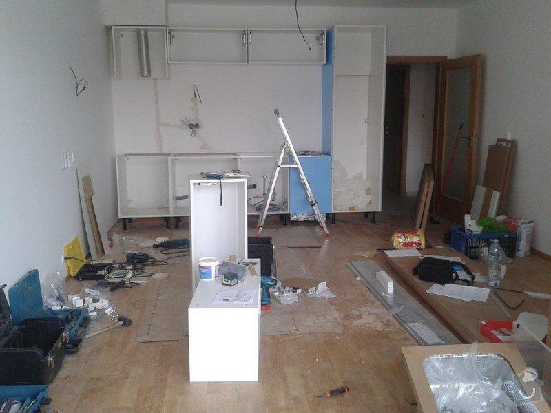 Příprava a montáž kuchyně IKEA: 003