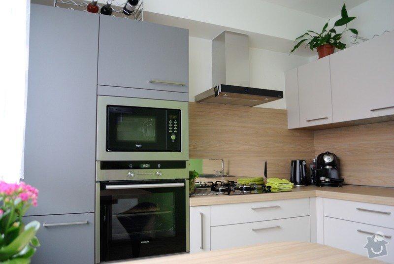Rohová kuchyně do panelového bytu pro rodinu, Rokycany: DSC_1569