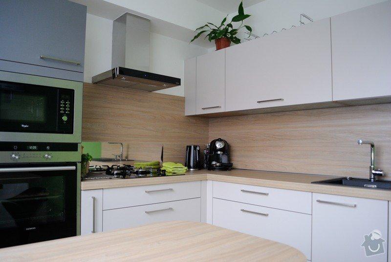Rohová kuchyně do panelového bytu pro rodinu, Rokycany: DSC_1570