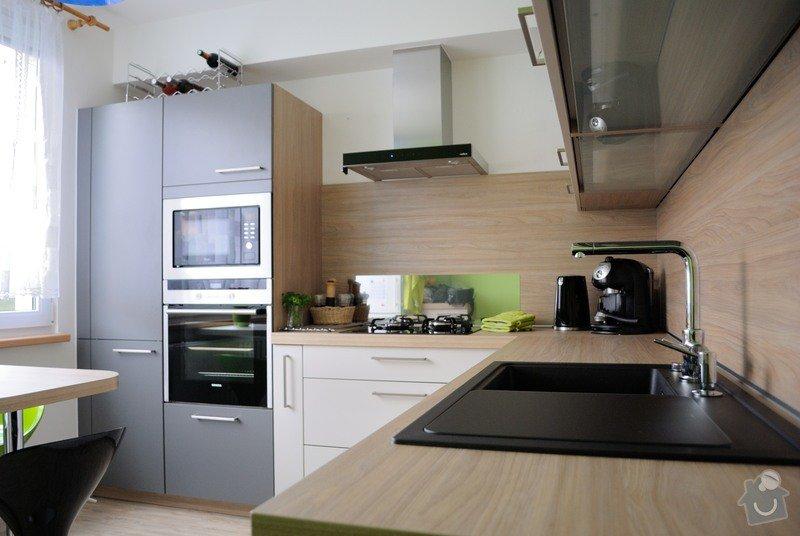 Rohová kuchyně do panelového bytu pro rodinu, Rokycany: DSC_1571