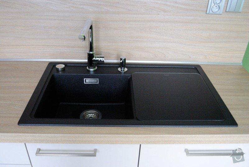 Rohová kuchyně do panelového bytu pro rodinu, Rokycany: DSC_1572