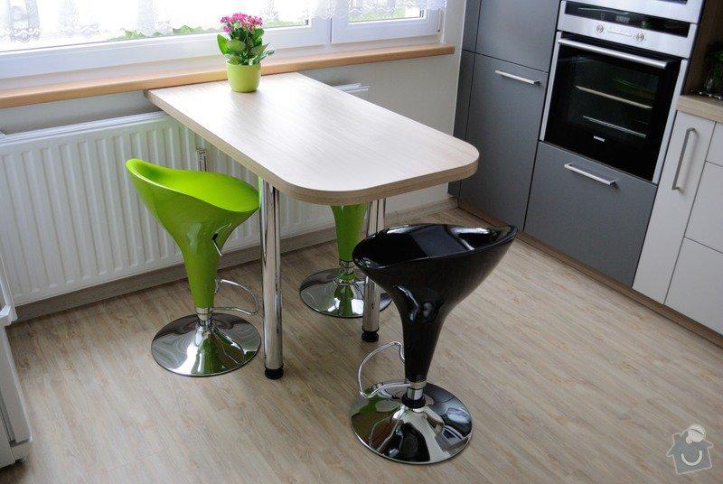 Rohová kuchyně do panelového bytu pro rodinu, Rokycany: DSC_1574
