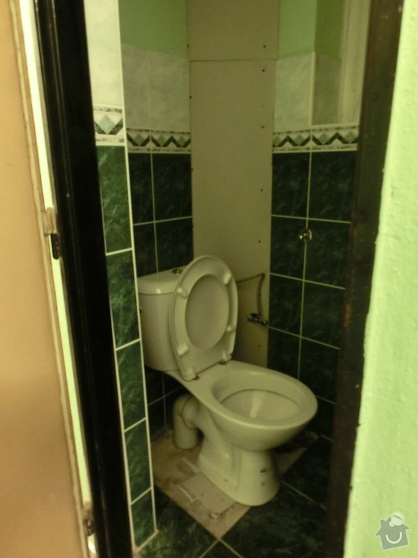 Obložení záchodů: z2