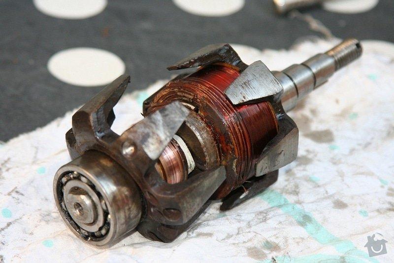 Převinutí rotoru alternátoru: 3