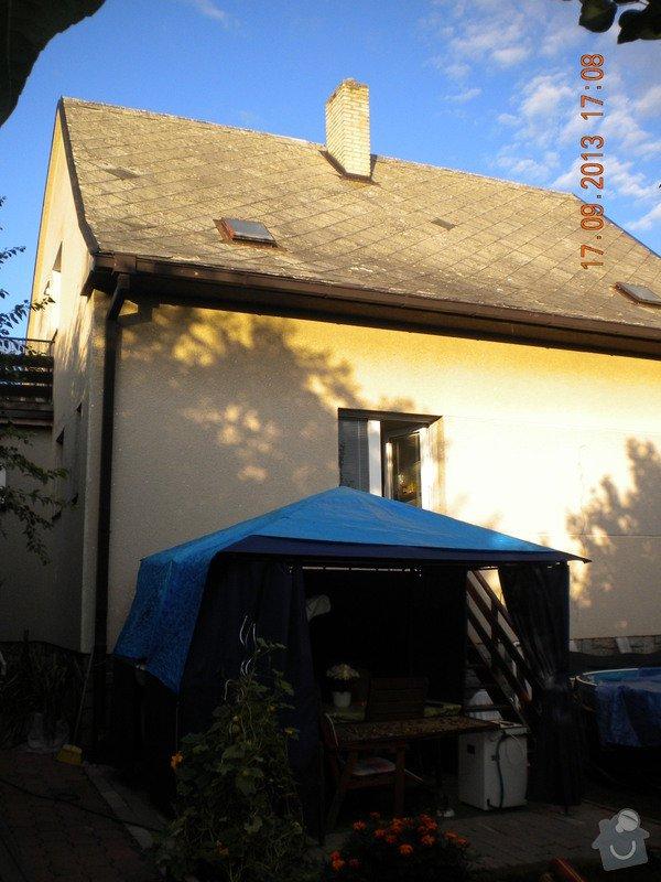 Oprava eternitové střechy, nátěr oplechování: DSCN1536_pohled_ze_zahrady