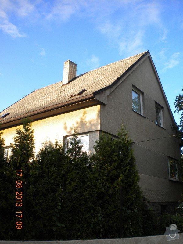 Oprava eternitové střechy, nátěr oplechování: DSCN1537_pohled_ze_zahrady