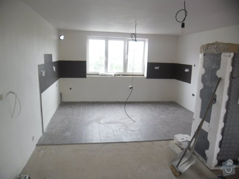 Dlažby, obklady v koupělně, WC a na chodbě + omítky v garáži: obklad-a-dlazba-v-koupelne-wc-a-kuchyni_134