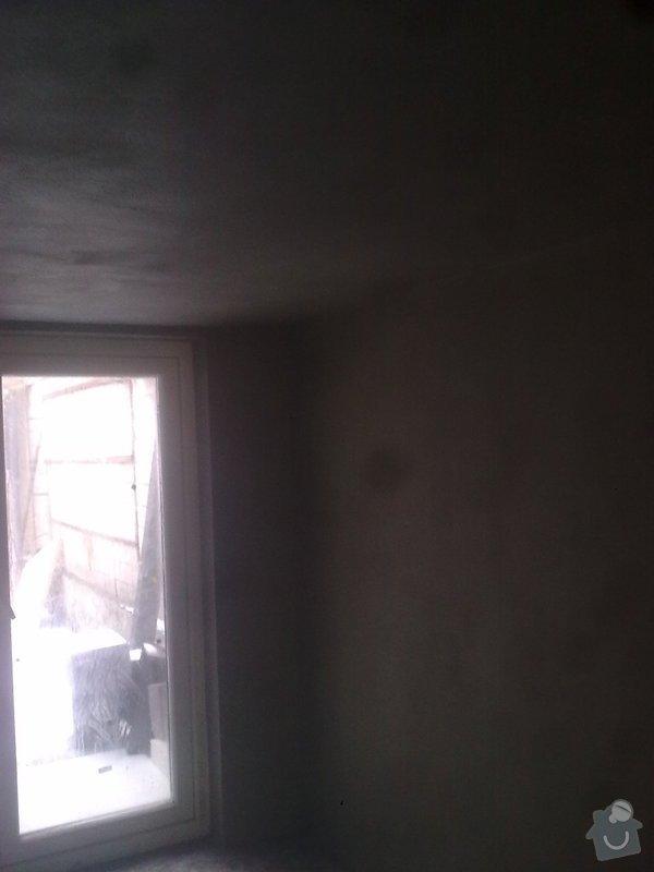 Dlažby, obklady v koupělně, WC a na chodbě + omítky v garáži: renovace-omitek-v-garazi_Obraz0657