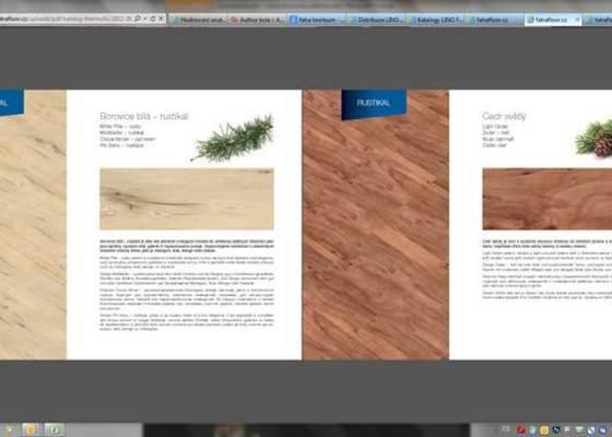 Pokládka nové podlahy včetně izolace a  USB desek pro srovnání, následně PVC