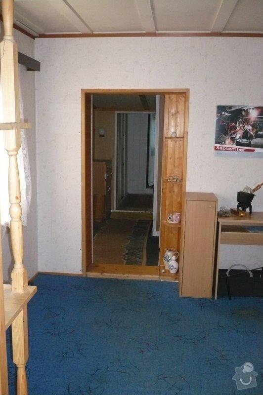 Rekonstrukce vnitřních prostor domu 5+1: P1080572