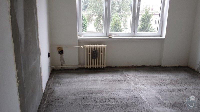Štukování, zaházení šliců po elektrikářovi, malování bytu: 20130922_162503