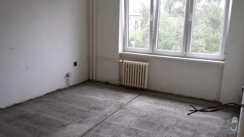 Štukování, zaházení šliců po elektrikářovi, malování bytu: 20130922_162550