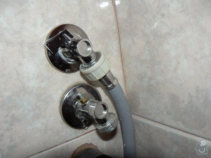 Výměna 2 rohových reg. ventilů: P1000831