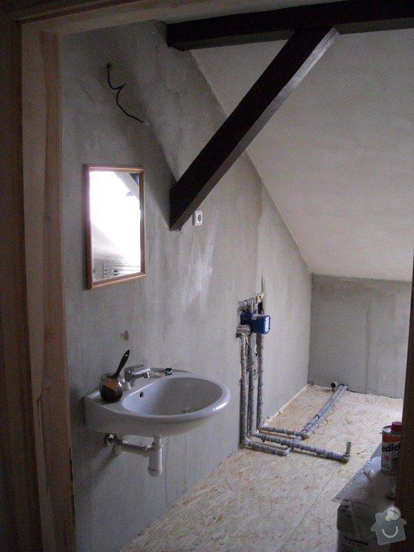 Renovace koupelny v půdním bytě: pred_dokoncenim