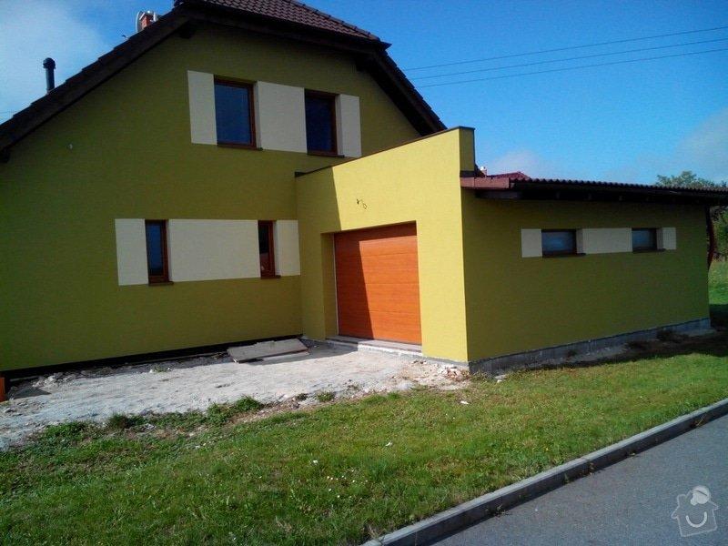 Zhotovení a materiál na fasádu - 230 m2: IMG_20130928_105924